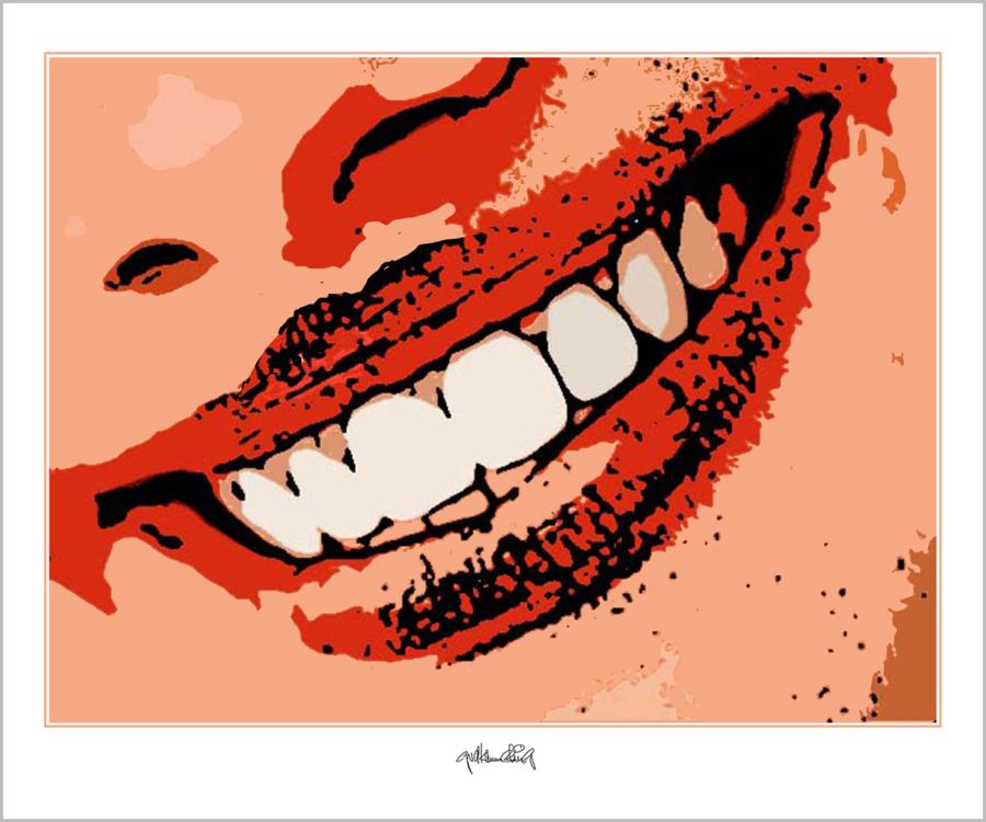 schöne Zähne, perfekte Zähne,