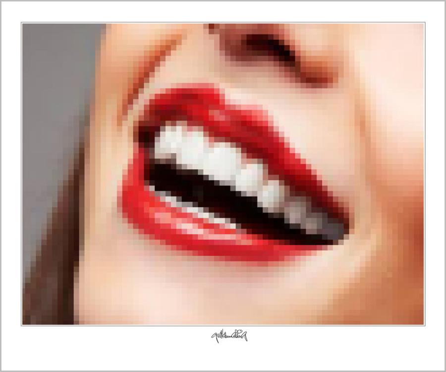 rote Lippen, Kunst Zahnarzt, Zahn-Kunst, Zahnarzt Wartezimmer, Kunst für Zahnärzte, Wandbilder für Zahnärzte und Zahnpra