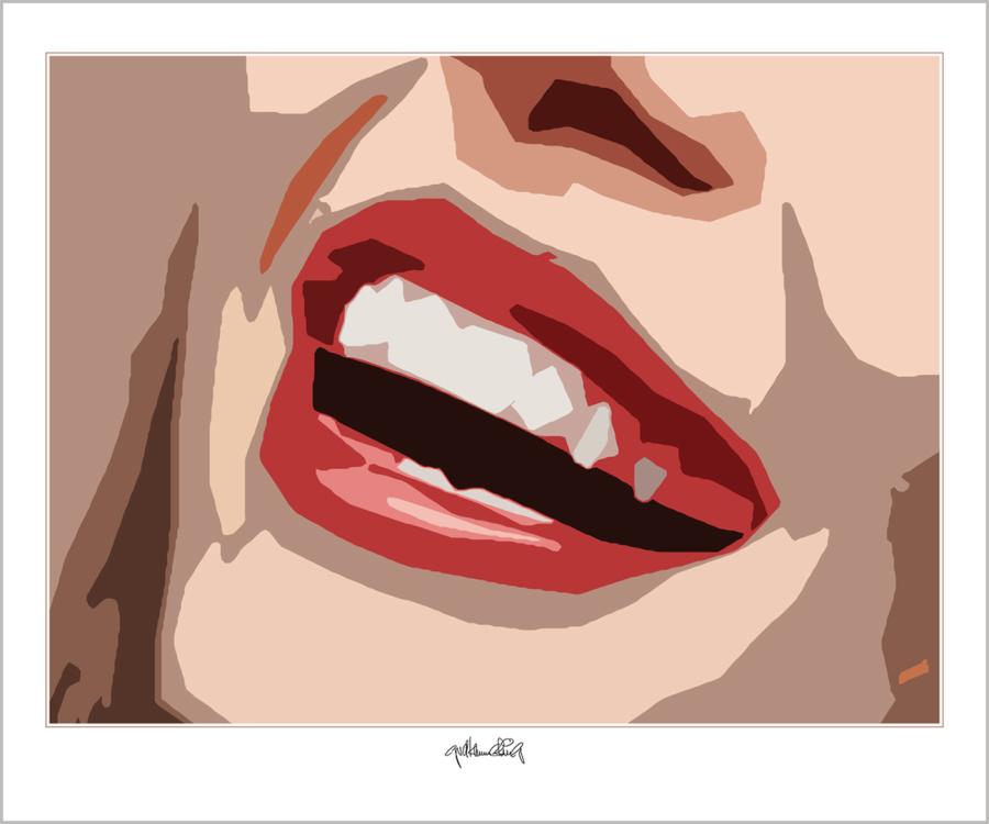 Phantastische Lippen, schöne Zähne, perfekte Zähne, erotische Lippen, rote Lippen, Lippen, schöne Lippen, , Lippenkunst, Zahnkunst,