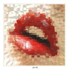 schöne Zähne, rote Lippen, Lippen, sZahnkunst,