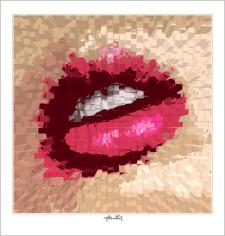 schöne Zähne, perfekte Zähne, erotische Lippen, rote Lippen, Lippen, schöne Lippen, Lippenkunst, Zahnkunst,