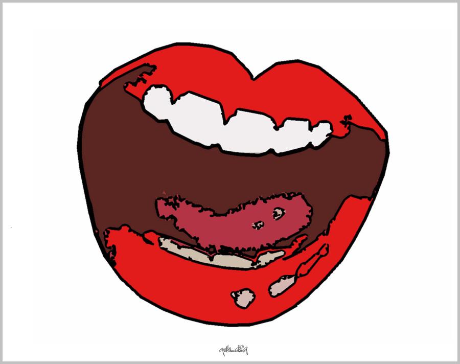 Kunst für Zahnärzte, Wandbilder für Zahnärzte und Zahnpraxen, Kunst Zahn, Kunst und Zähne, Lippen und Kunst, Lippen-Kunst, Bilder für Zahnarztpraxen,