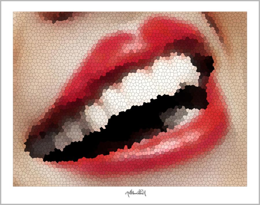 schöne Zähne, perfekte Zähne, erotische Lippen, rote Lippen, Lippen, perfekte Zähne, schöne Lippen,