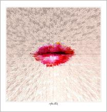 Phantastische Lippen, Wandbilder Wartezimmer, Zahnarzt