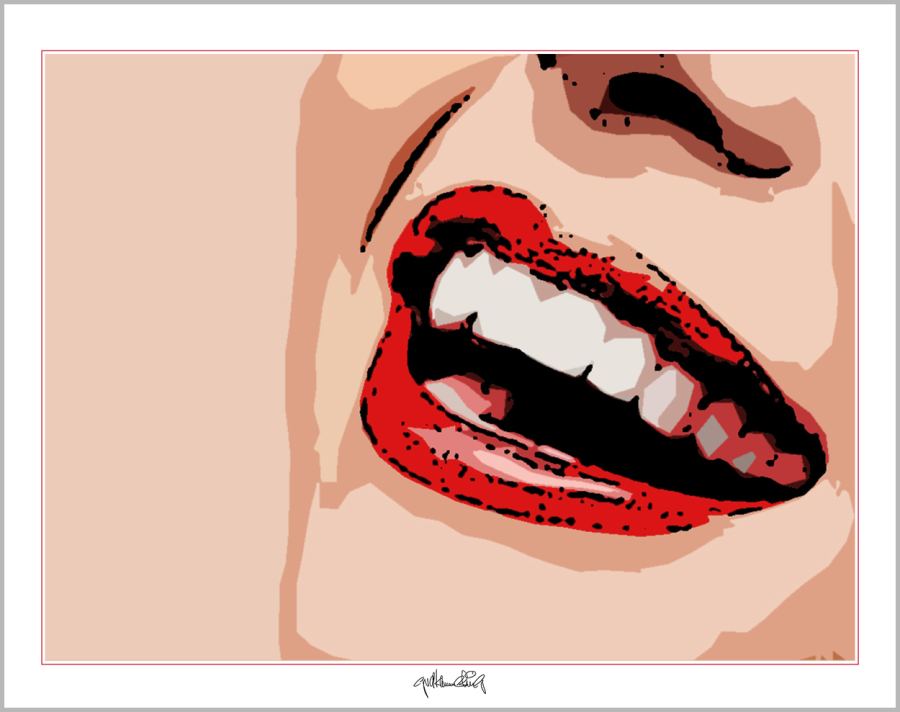 schöne Lippen,