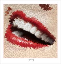 Phantastische rote Lippen, schöne Zähne, perfekte Zähne, perfekte Lippen, tolle Lippen, erotische Lippen, rote Lippen, Lippen, schöne Lippen,