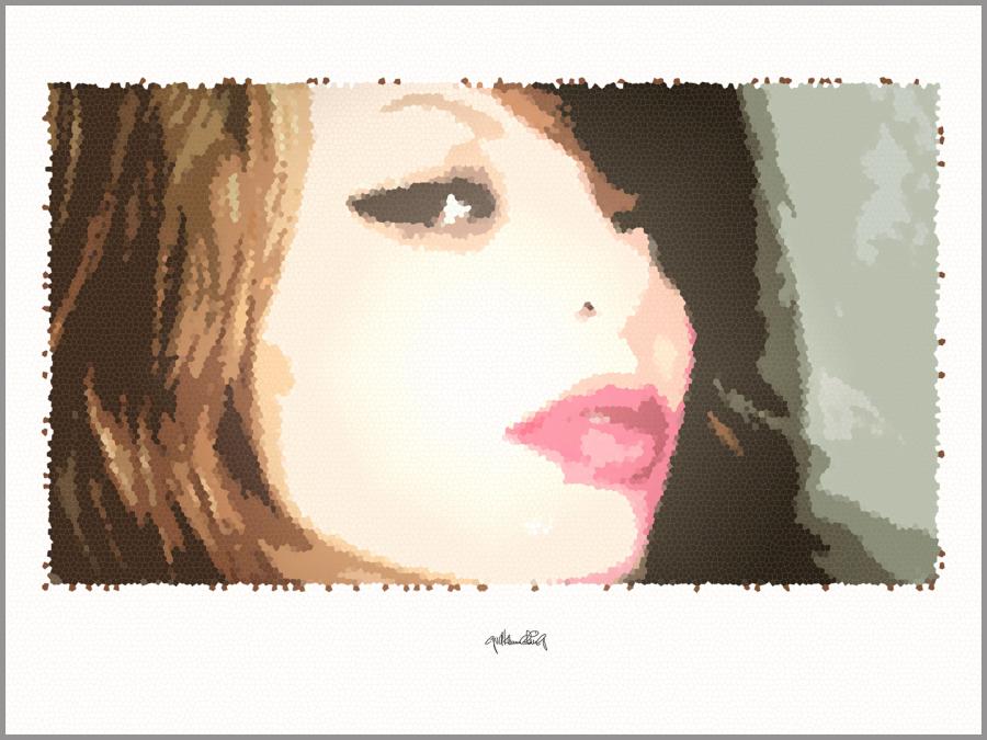 Portrait, Kunstdruck