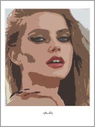 Portrait, Kunstdruck,