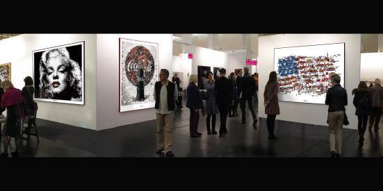 Bilder für Augenarztpraxen, Kunstausstellung, Bild Kunstausstellung,