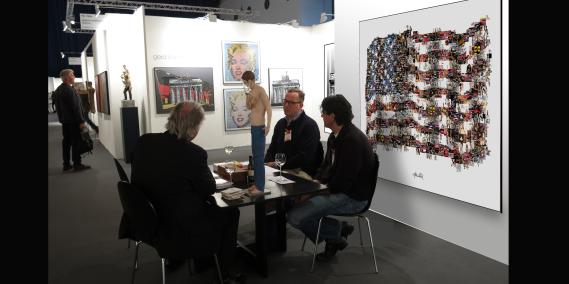 Kunstausstellung, Artfair, zeitgenössische Kunst