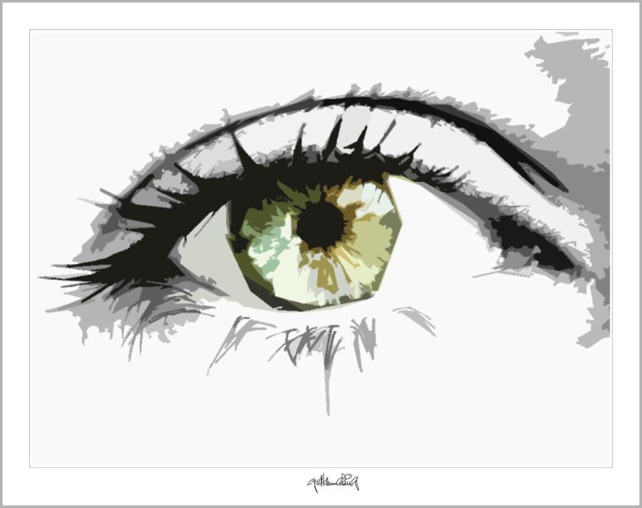 Tolle Augen, schöne Augen, Kunst und Augen, Wandbild, Bilder Wartezimmer, schöne Augen,