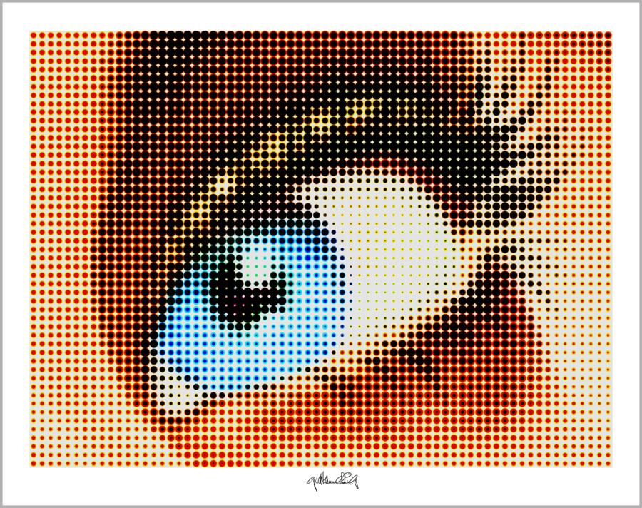 blaue Augen, Kunstausstellung, Artfair