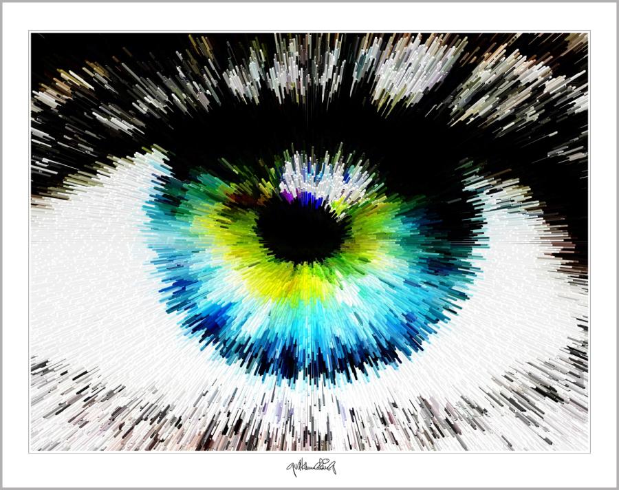blaue Augen, zeitgenössische Kunst, moderne-Pop Art, Bilder fürs Wartezimmer, Kunst und Augen,