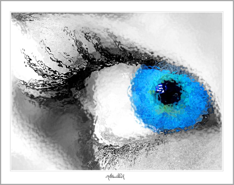 blaue Augen, moderne-Pop Art, Bilder fürs Wartezimmer,