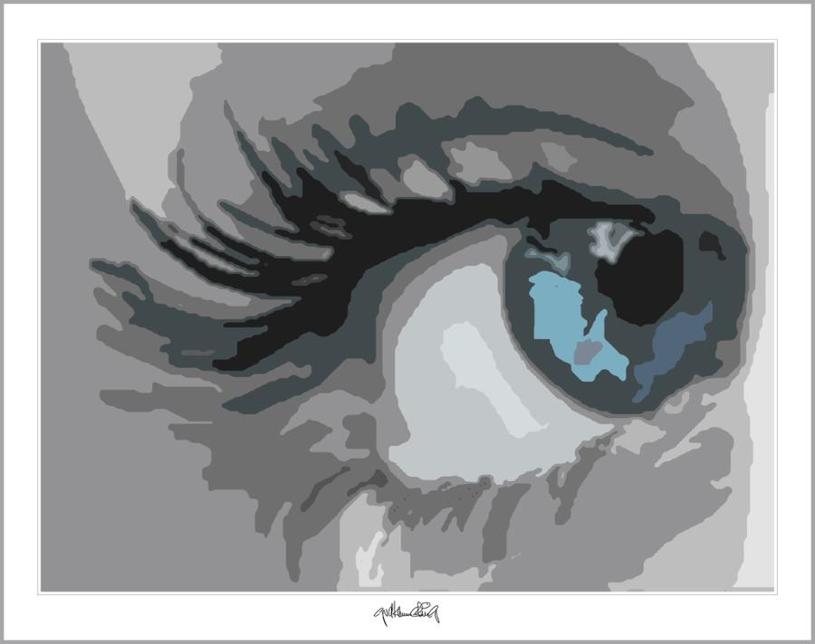 blaue Augen, Augenarzt Wartezimmer, Augen-Kunst, Einrichtung-Praxis, Augen, Kunst, Galerie