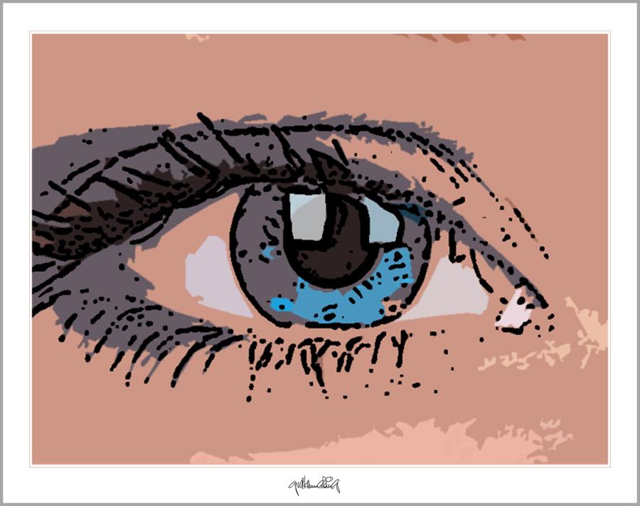Kunst und Augen, Wandbild, Bilder Wartezimmer, schöne Augen,