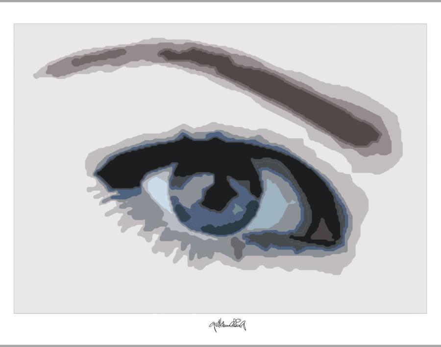 schöne Augen, Augen-Kunstobjekte, erotische Augen, blaue Augen, Auge und Kunst,