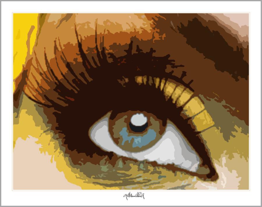 Wandbilder für Augenärzte und Augenarztpraxen, Kunst mit Augen, Kunst und Augen,