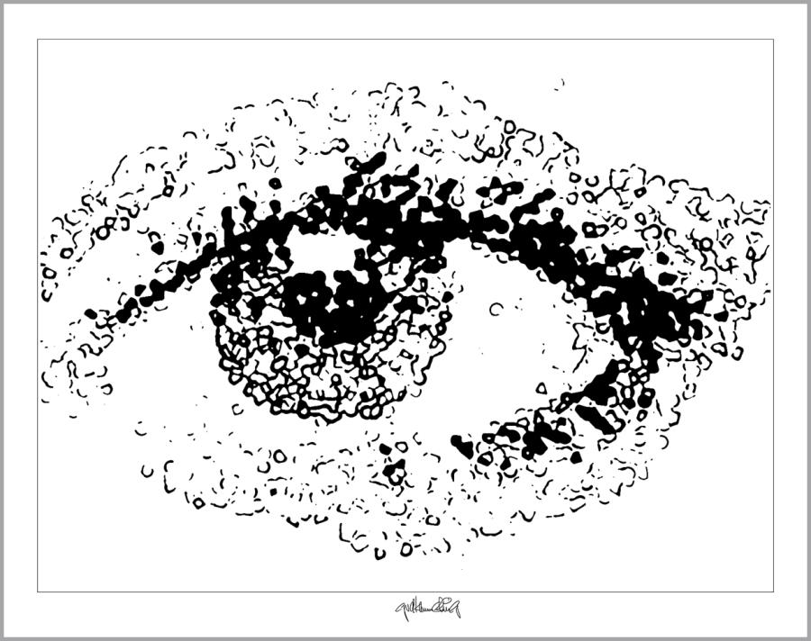 Auge und Kunst, Augenarztpraxis, Rezeption Arzt