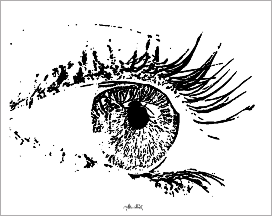Kunst Augenpraxen, Bilder Augenklinik, Augen-Kunstobjekte,