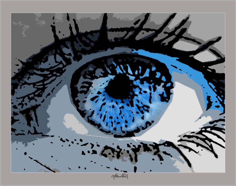 Augen, Kunst und Augen, Wandbild, Bilder Wartezimmer, schöne Augen,