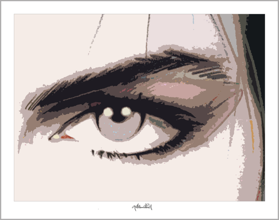 Tolle Augen, schöne Augen, erotische Augen, blaue Augen, Augen, lange Wimpern, große Augen, Augenkunst, Auge und Kunst, Augenpraxis, Wartezimmerkunst, Kunst Augenpraxen,