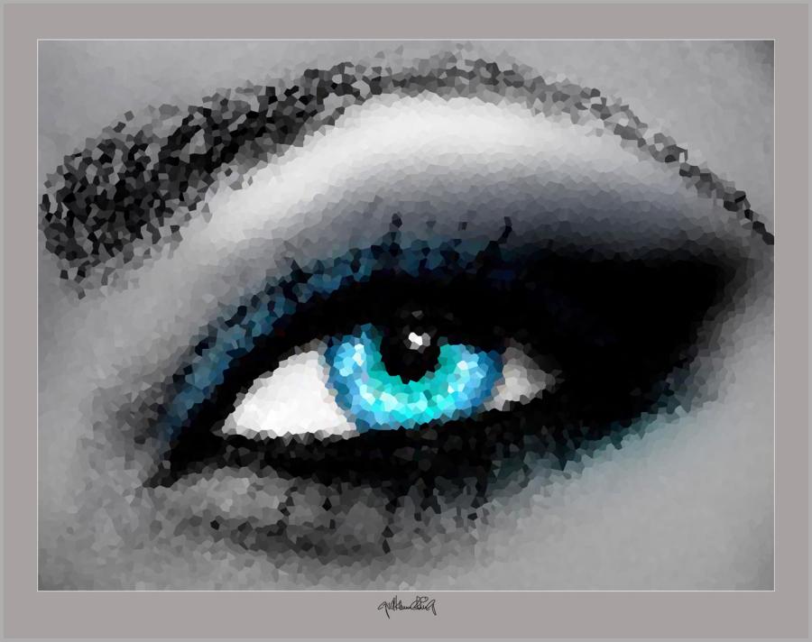 Auge und Kunst, zeitgenössische Kunst, moderne-Pop Art, Bilder fürs Wartezimmer, Kunst und Augen,