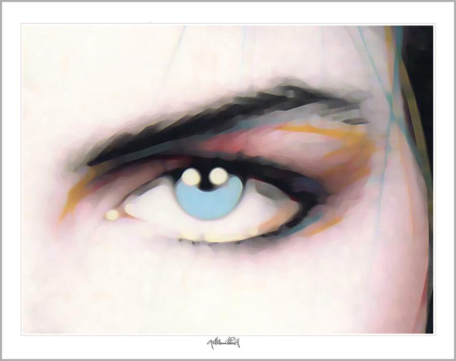 blaue Augen, Augen, lange Wimpern, Auge und Kunst, Augenpraxis, Wartezimmerkunst, Kunst Augenpraxen, Kunst Augenklinik, Kunst-Auge, Augenarzt Wartezimmer