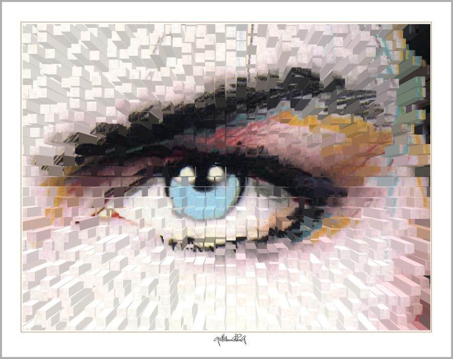 blaue Augen, Augen, lange Wimpern, Augenpraxis, Rezeption, Kunst Augenpraxen, Kunst Augenklinik, Kunst-Auge, Augenarzt Wartezimmer