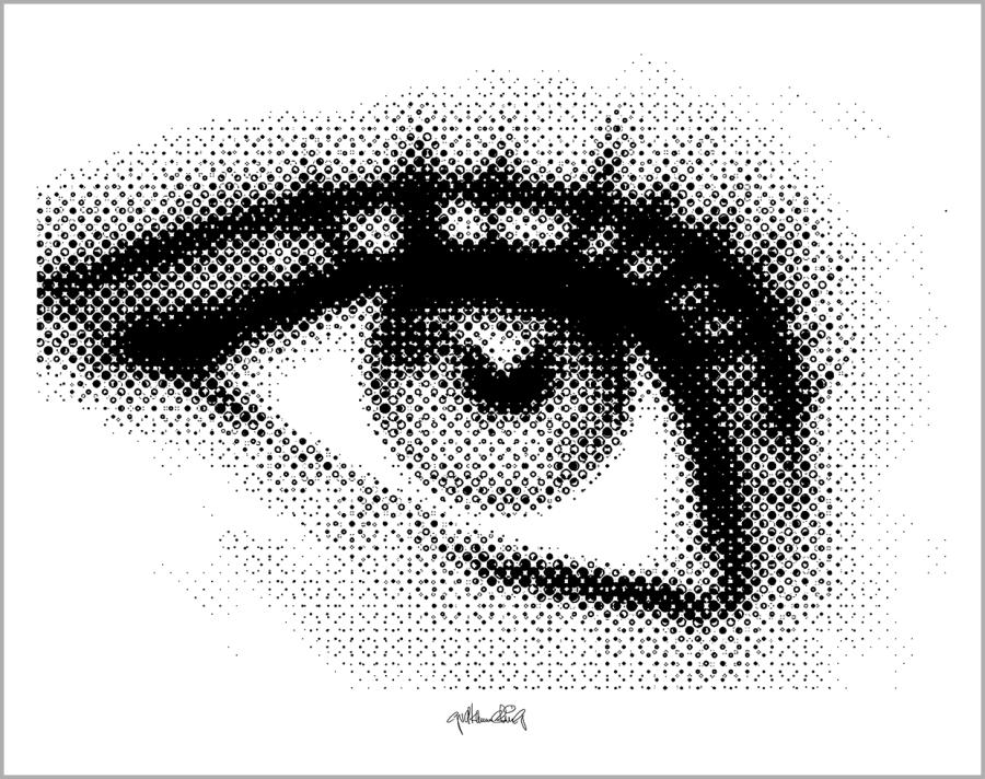 Augen, Kunst, Bild, Wandbild, Rezeption, Augenarzt