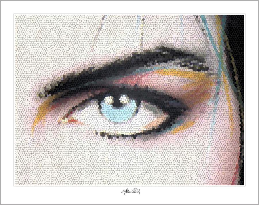 Tolle Augen, zeitgenössische Kunst, moderne-Pop Art, Bilder fürs Wartezimmer,
