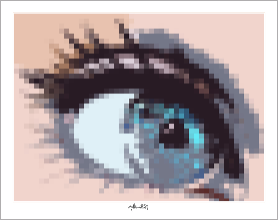 Augen und Kunst, Augen-Kunstobjekte, Bilder für Augenarztpraxen,