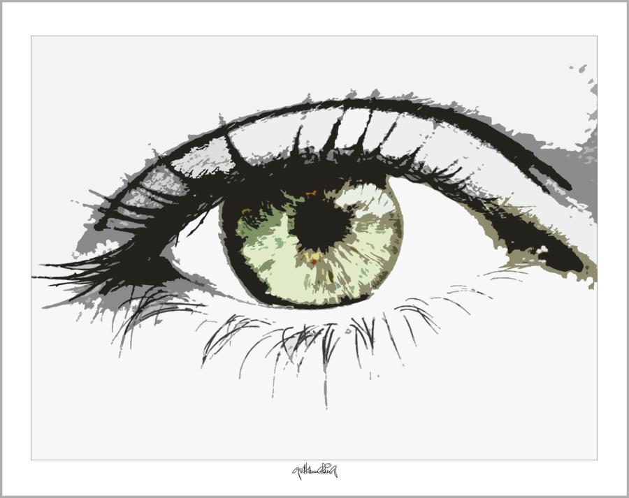 Kunst mit Augen, Kunst und Augen,