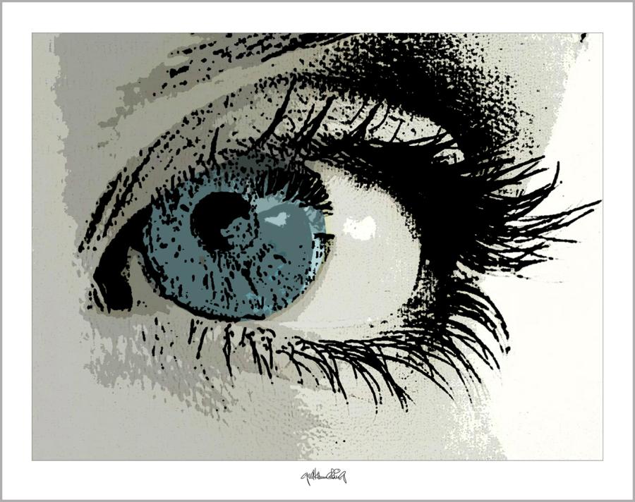 Kunst mit Augen, Augen und Kunst, Augen-Kunstobjekte, Bilder für Augenarztpraxen,
