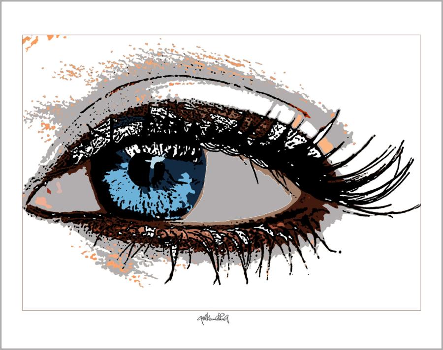 Augenarzt Wartezimmer, Augen-Kunst, Einrichtung-Praxis, Augen, Kunst,