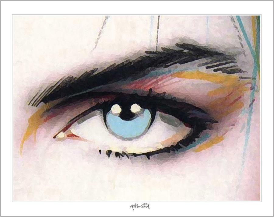 Kunst Augenpraxen, Bilder Augenklinik, Wandbilder Rezeption