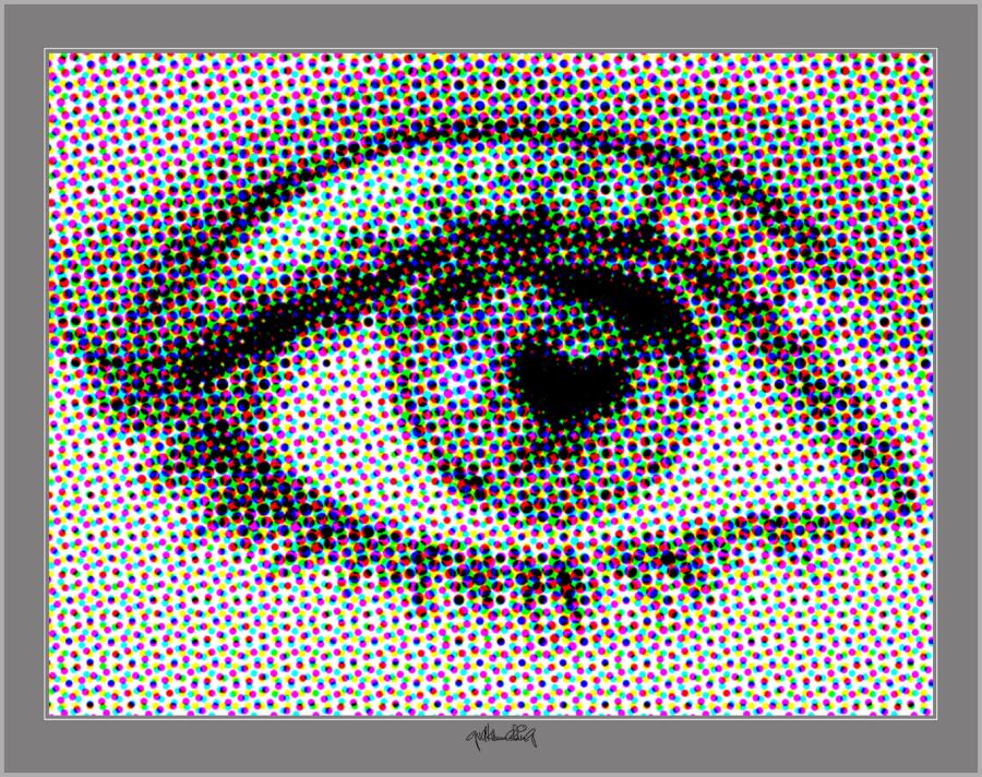 Augenkunst, Auge und Kunst,