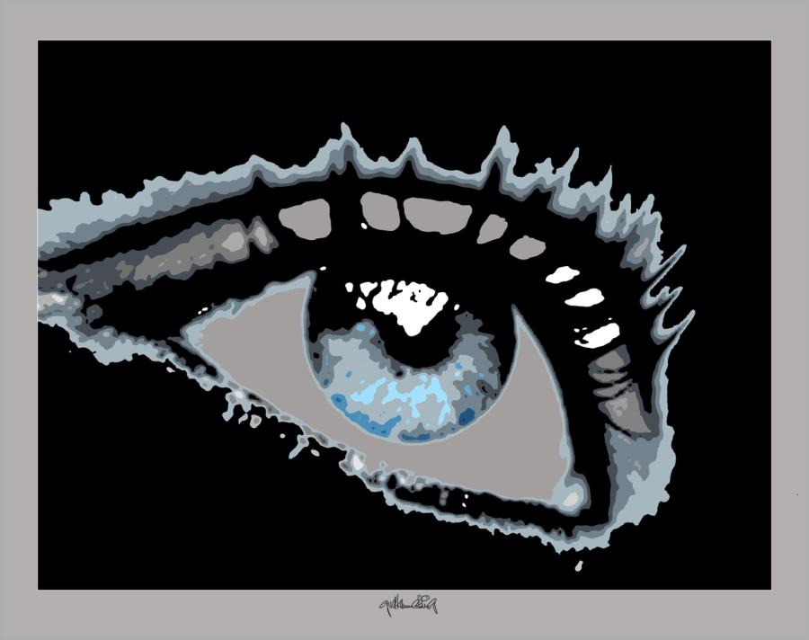Kunst mit Augen