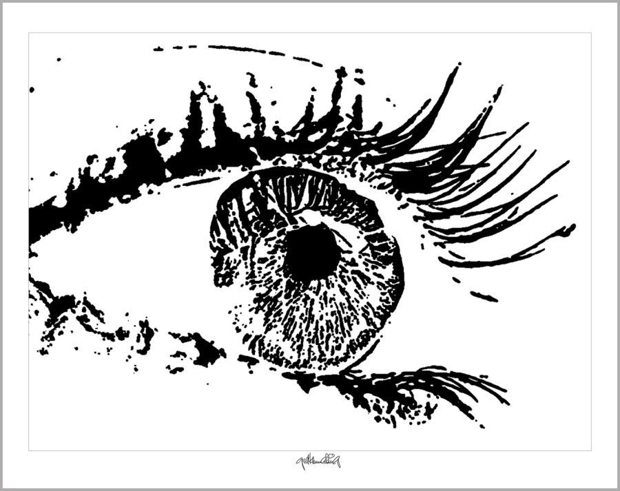 Tolle Augen, schöne Augen, Kunst, Empfang, Rezeption, Augenarzt