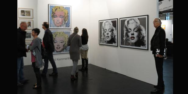 Galerie, Kunstgalerie, Vernissage, Kunst mit Lippen, Kunstausstellung, Ausstellung, Lippenbilder, Art Fair