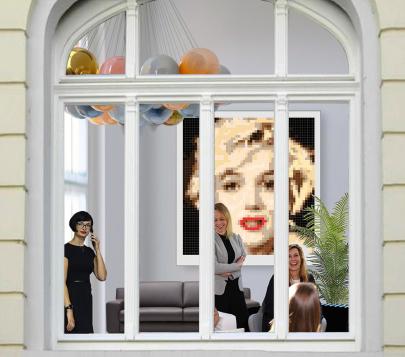 Marilyn Monroe, zeitgenössische Kunst, Marilyn Portrait, Bild, Foto, moderne Kunst, moderne-Pop Art, Exponate, Kunstbilder, Wandbilder, Warhole, Arztpraxis