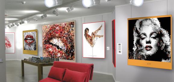 Artfair, Kunstausstellung, Gallery