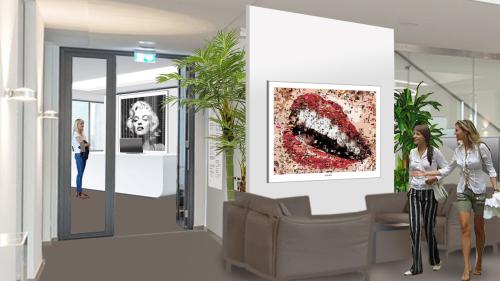 Voyer, Gestaltung, Inneneinrichtung, Zahnklinik