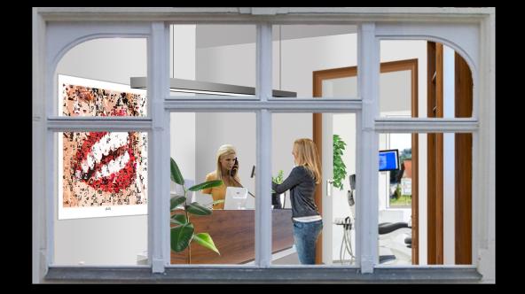 Rezeption, Wartezimmer, Zahnarzt, Einrichtung, Gestaltung