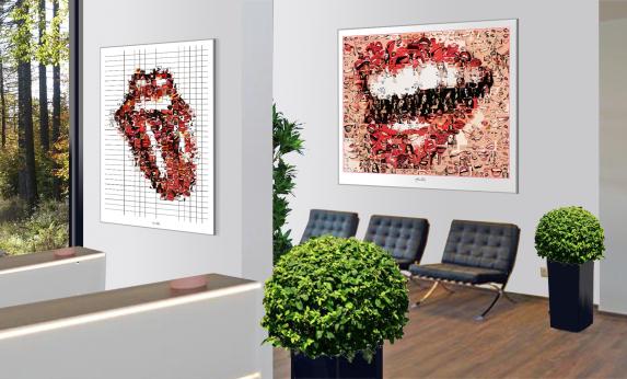 Wandbilder Zahnarztpraxis