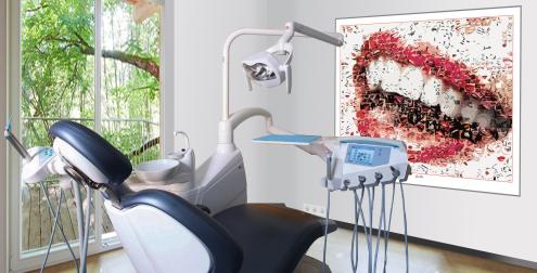 Design Zahnarzt Behandlungszimmer