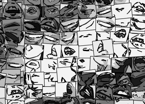 Zahnarztpraxis Wandbilder
